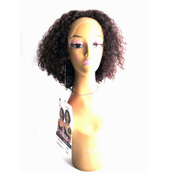 The Wig Black Pink WET & WAVY  100% Brazilian Remy Lace Front Wig - HBL(WET N CURLY)SPICY