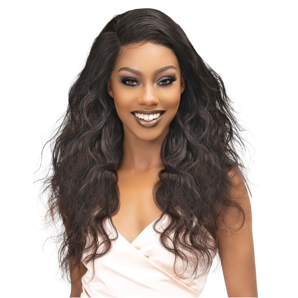 Janet Collection Melt 100% Natural Virgin Bundle Human Hair - NATURAL BODY 3PCS 4X5 HD FREE PART