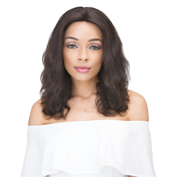 Janet Collection 100% Virgin Remy Hair Lace Front Wig - 360 LACE NATURAL WIG 18""