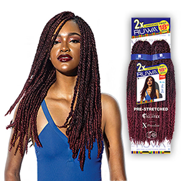 "Sensationnel 2X Ruwa Braid 18""- JAMAICAN TWIST"