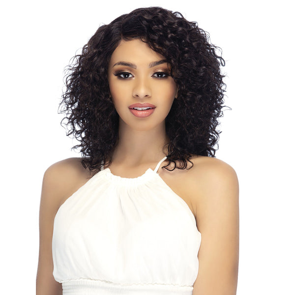 Vivica A Fox 100% Brazilian Natural Remi Human Hair Swiss Lace Front Wig - HATTIE