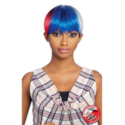 Vanessa Synthetic Fashion  Full Wig - FUNKY