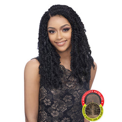 Harlem 125 Kima Collection Synthetic Braid Lace Wig - KBW 04