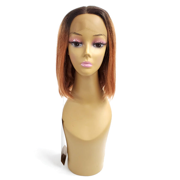Foxy Lady 100% Unprocessed Natural Brazilian Remy Lace Front Wig - H/H SHANE 12""