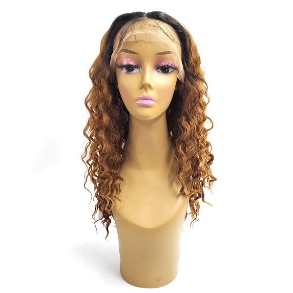 Signature Looks Signora 100% Human Blend Lace Front Wig - HH LEMON