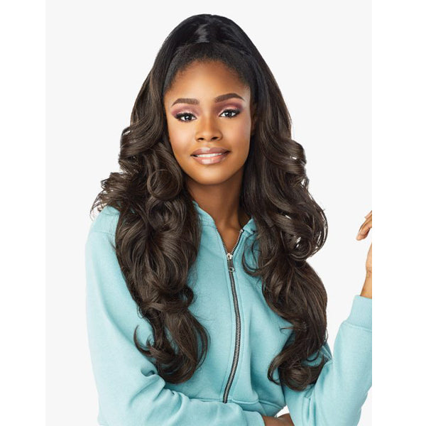 Sensationnel Instant Up & Down Pony Wrap Half wig - UD 6