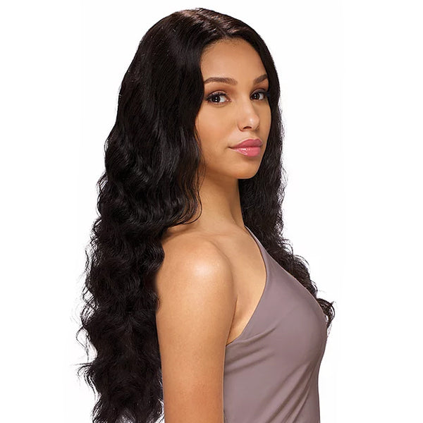 Sensual Vella Vella 100% Natural Human Hair Lace Front Wig - BODY WAVE 24""