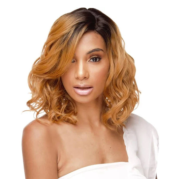 The Wig Human Hair Blend Lace Front Wig - LH KISS