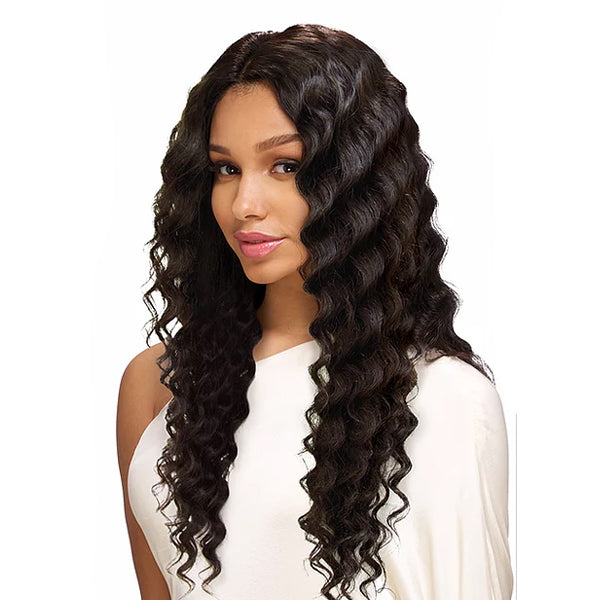 Sensual Vella Vella 100% Natural Human Hair Lace Front Wig - DEEP WAVE 24""