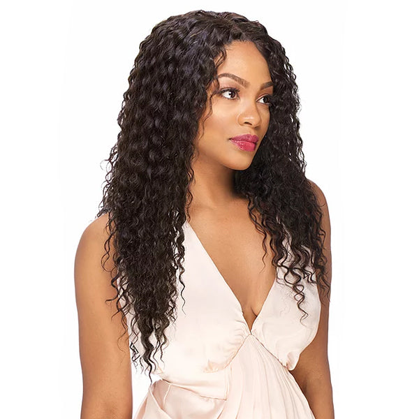 Sensual Vella Vella 100% Natural Human Hair Lace Front Wig - WATER DEEP 24""