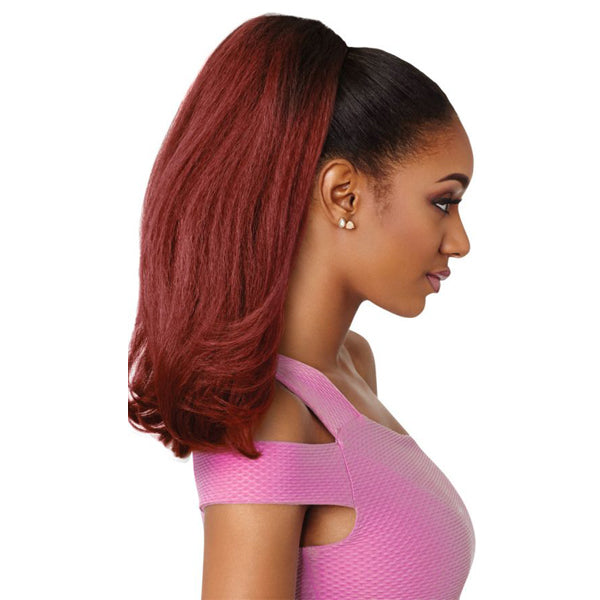 Outre Pretty Quick Pony Synthetic Drawstring Ponytail - NEESHA BODY 16""