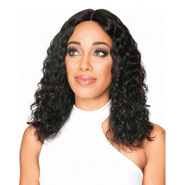 Zury Hollywood Wet & Wavy Brazilian Remy Human Hair Lace Front Wig -  HRH-BRZ LACE WW WON