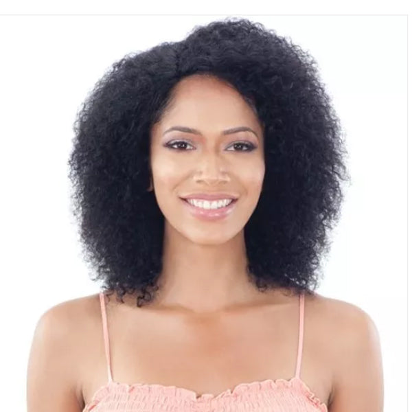 Naked Nature Brazilian Natural 100% Human Hair Wet & Wavy Lace Front Wig - SUMMER CURL