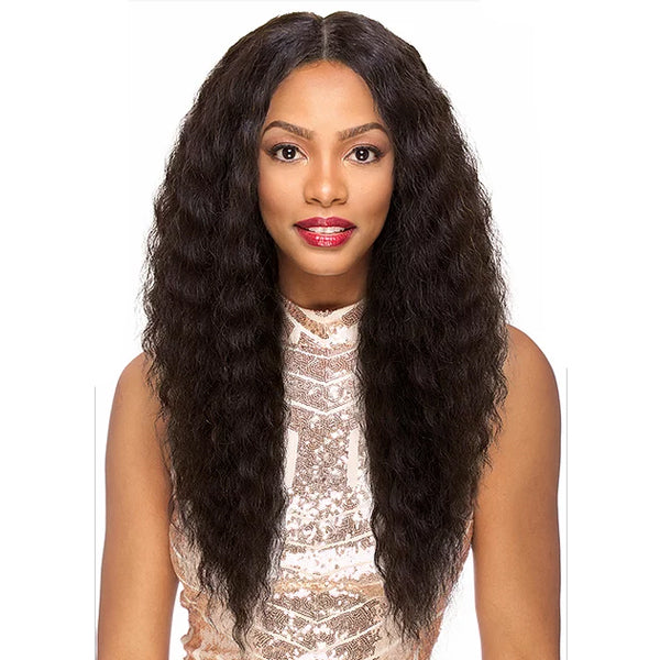 Sensual Vella Vella 100% Natural Human Hair Lace Front Wig - DEEP TWIST 24""