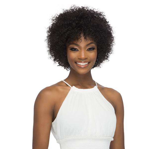 Vivica A Fox 100% Brazilian Natural Remi Human Hair Full Wig - HARLEE