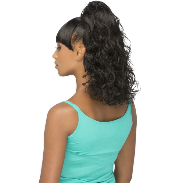 Vivica Fox Synthetic Drawstring Two In One Bang & Pony - BP-FELICIA