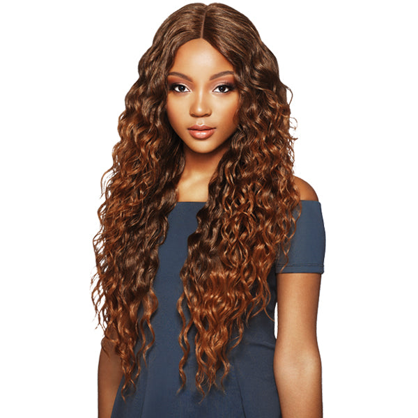 "Outre Synthetic 6"" Part Swiss Lace Front Wig - AMARA"