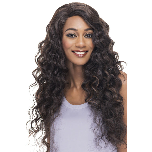 Vivica A Fox Deep Swiss Invisible Part Lace Front Wig - ANTIQUE