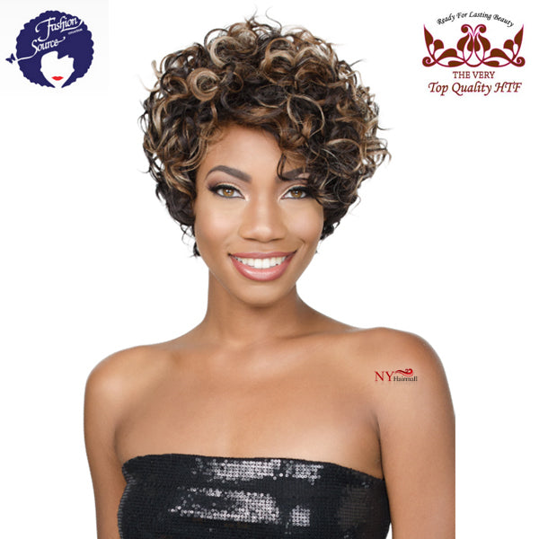 Golden State Fashion Source High Heat Fiber Wig - HT HEATHER