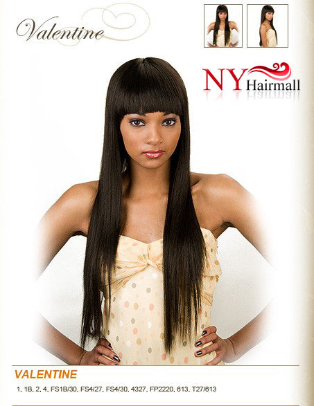 Junee Fashion Manhattan Style synthetic Wig - Valentine