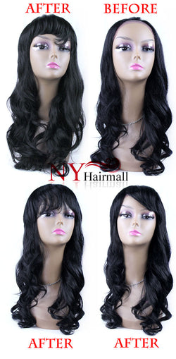 Diana Human Hair - Top Wig