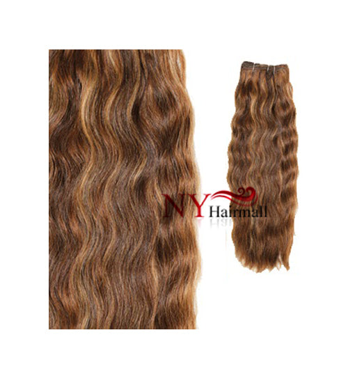 "Fashion Source 7pcs Human Hair Clip On 16"" - Natural Wave"