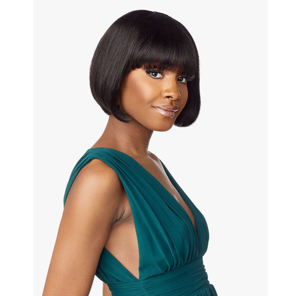 Sensationnel 10A Unprocessed Virgin Human Full Wig - STRAIGHT 9""