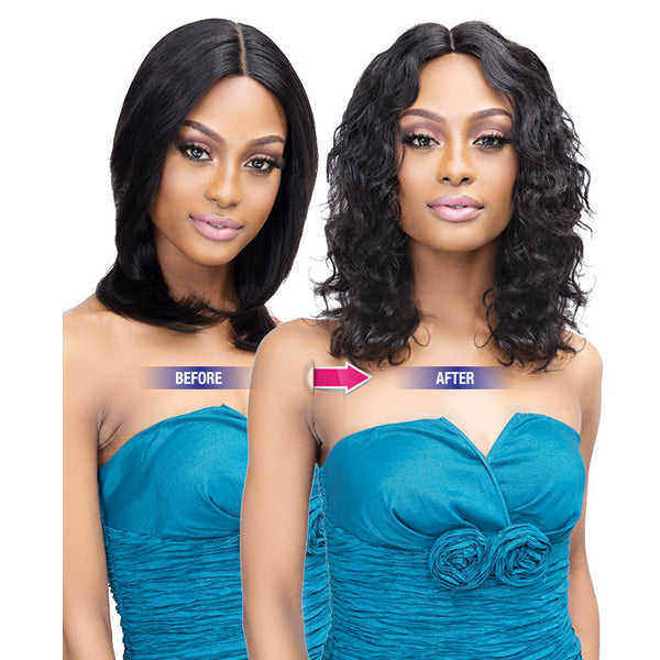 Janet Collection Luscious Wet & Wavy 100% Natural Virgin Remy Indian Full Wig - NOVA