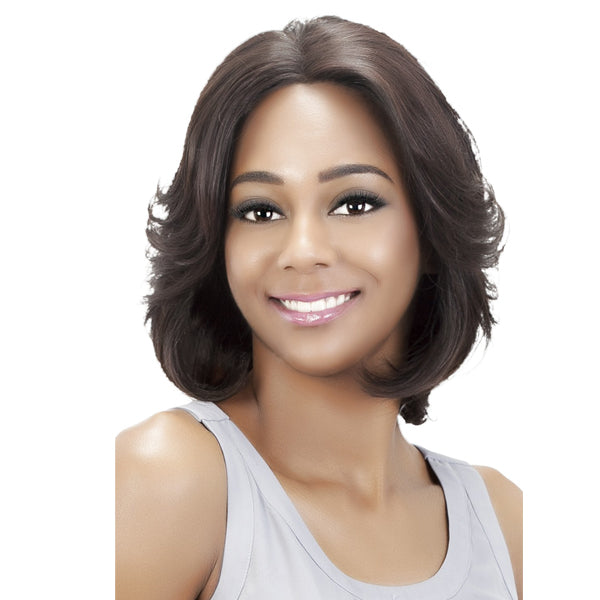 Vivica A Fox 100% Remi Human Hair Swiss Full Lace Wig - BLUEBELL