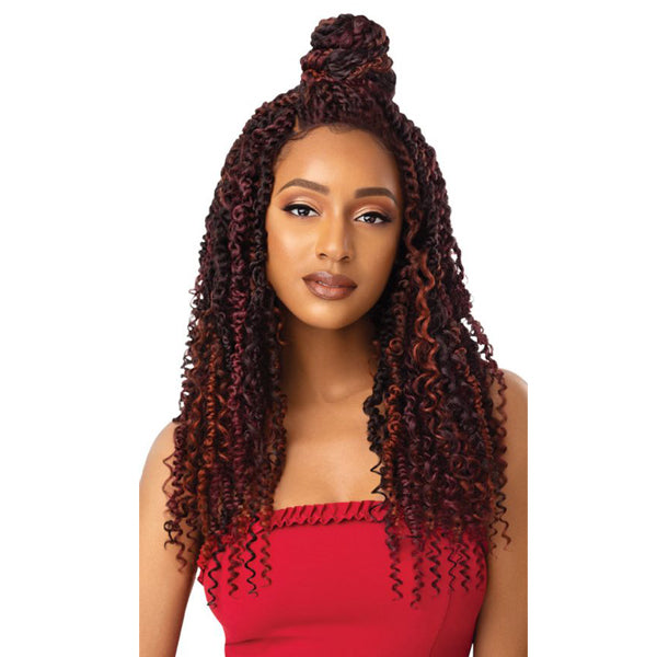 Outre X-Pression Twisted Up Lace Front Wig- BOHO PASSION WATERWAVE 22""