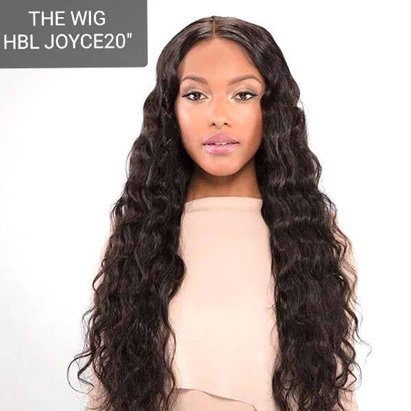 The Wig Black Pink 100% Brazilian Remy Whole Lace wig - HBL JOYCE 20""