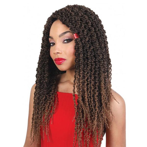 "Motown Tress True 3X Thin Passion Twist 18""- C.PASSN183"
