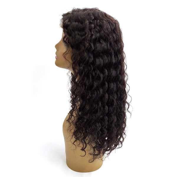 Bellatique 100% Virgin Brazilian Remy Human 4X4 Lace Front Wig - ROSE 20""