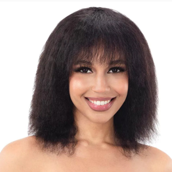 Naked Nature Brazilian Natural 100% Human Hair Wet & Wavy Full Wig - WAIKIKI CURL