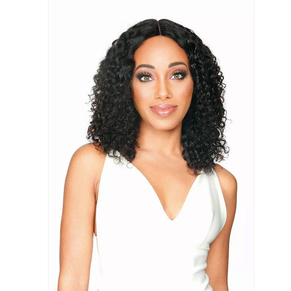 Zury Hollywood Wet & Wavy Brazilian Remy Human Hair Lace Front Wig -  HRH-BRZ LACE WW TAE