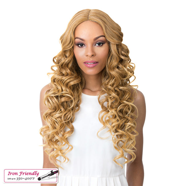 It`s a Wig Synthetic Swiss Lace Front Wig - SWISS LACE KEEFF