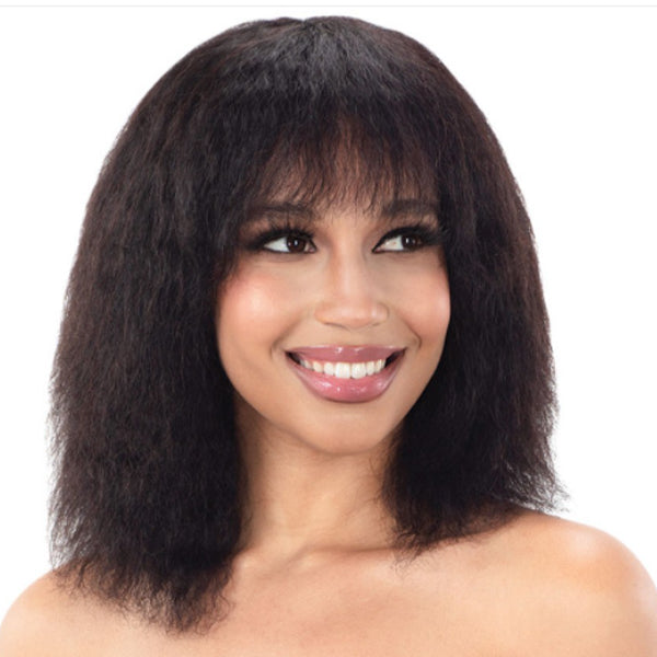 Naked Nature Brazilian Natural 100% Human Hair Wet & Wavy Full Wig - ATLANTIC WAVE