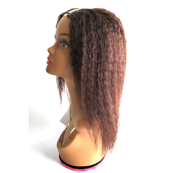 Awesome 100% Human Hair Slim U Part - SLIM U ITALIAN YAKI 18""