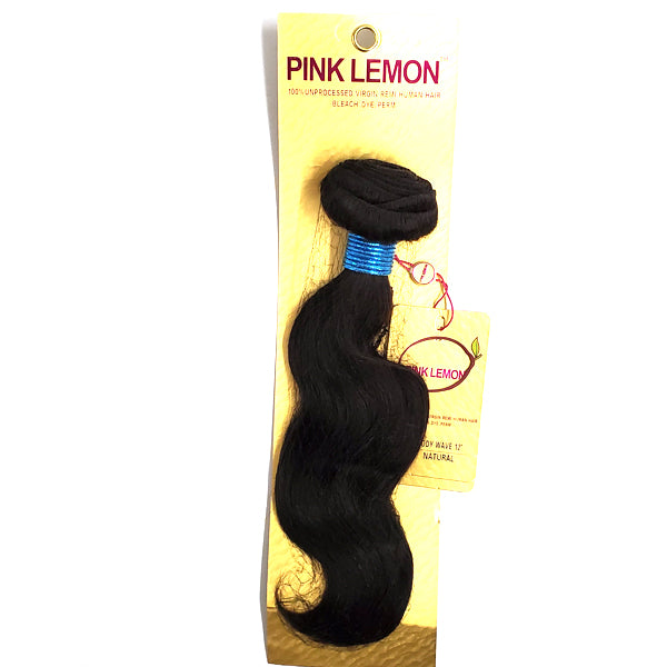 Pink Lemon 100% Virgin 13A Unprocessed Bundle Hair - BODY WAVE