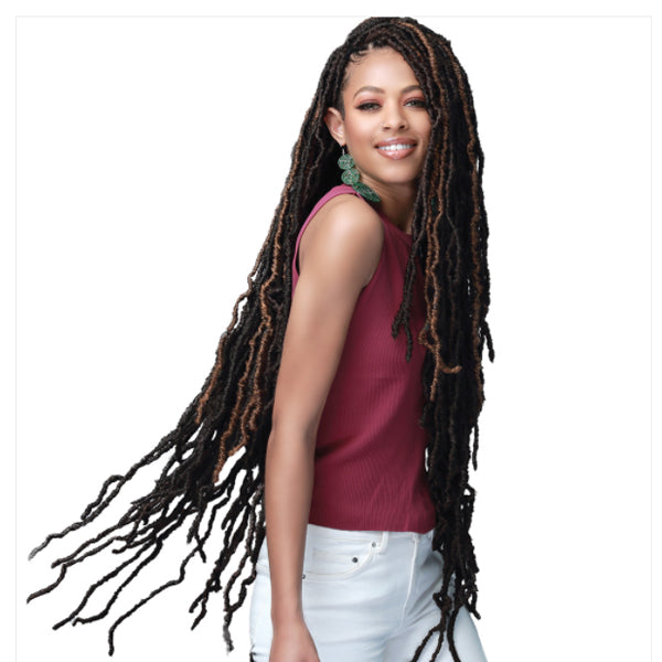 "BOBBI BOSS African Roots Extra Long Braid Collection - NU LOCS 36"" 2X"
