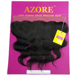 "Bellatique Azore 100% Human Virgin Brazilian Remy 13x4 Frontal Lace Closure 12"" - BODY WAVE"