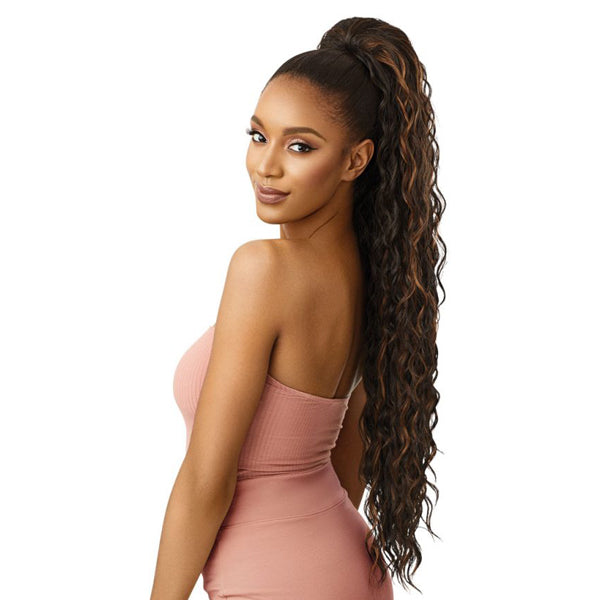 Outre Pretty Quick Pony Synthetic Drawstring Ponytail - LOOSE DEEP 34""
