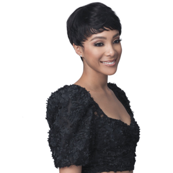 Bobbi Boss 100% Human Hair Pixie Crush Full Wig - MH1270 AVERIL
