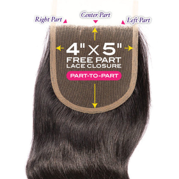 "Janet Melt  4""X 5"" HD Lace Closure - Body"