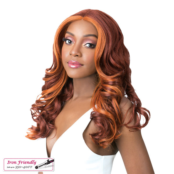 It`s a Wig Synthetic Swiss Lace Front Wig - SWISS LACE FRIDA
