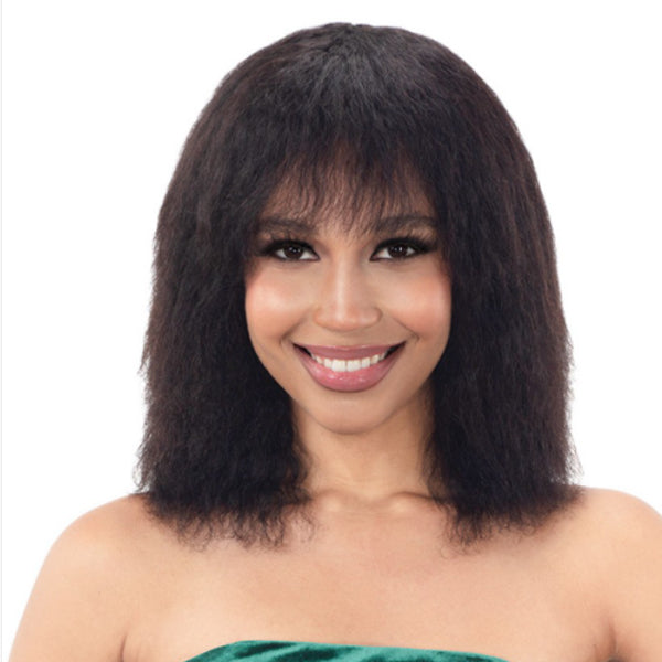 Naked Nature Brazilian Natural 100% Human Hair Wet & Wavy Full Wig - BALTIC WAVE