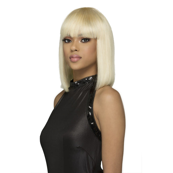 Vivica A Fox 100% Brazilian Natural Remi Human Hair Full Wig - VIOLA