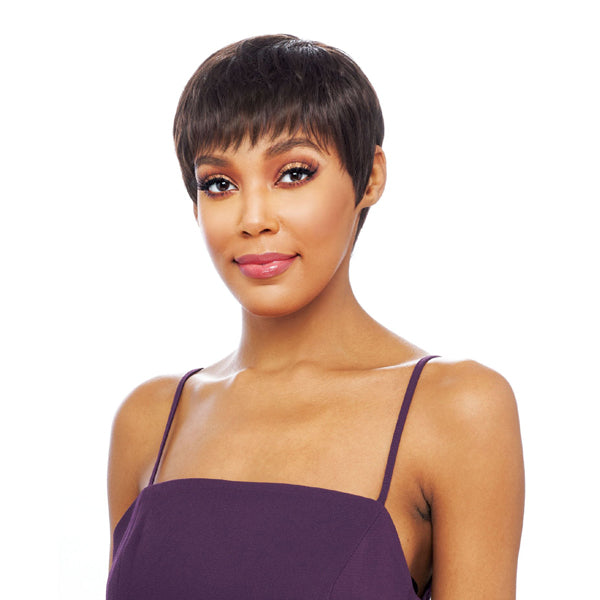 Vanessa Vixen Collection 100% Human Hair Full Wig - PIXIE