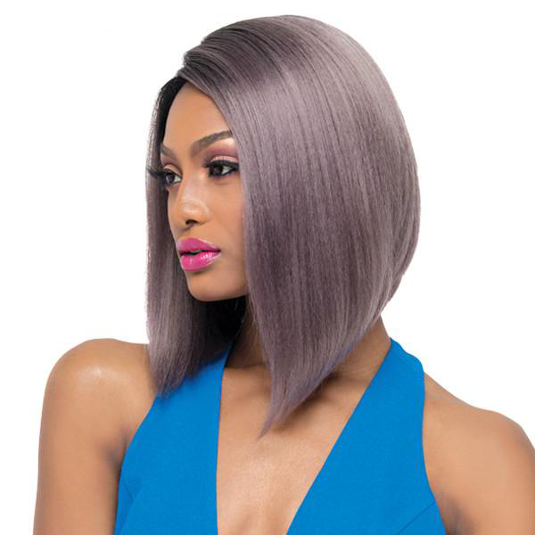 Outre Synthetic L-Part Swiss Lace Front Wig - ISSA