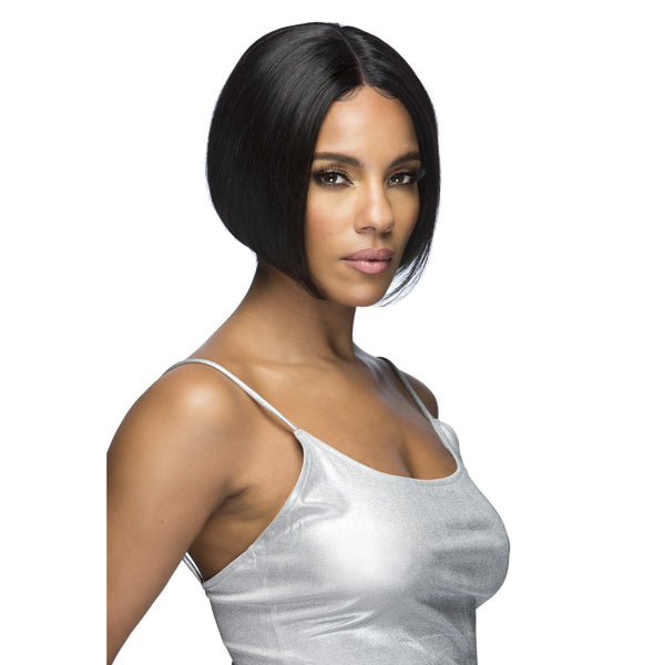 Vivica A Fox 100% Natural Brazilian Remi Hair Swiss Lace Front Wig - ISLA